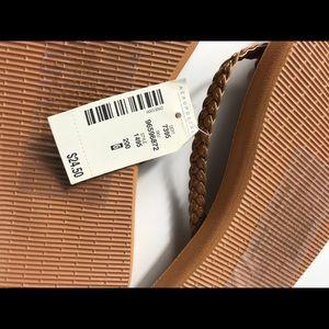 Aeropostale Shoes - Brown Aeropostale Flip Flops